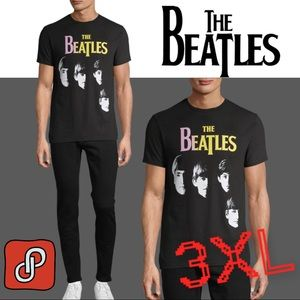 THE BEATLES Fab Four Graphic T Shirt 3XL